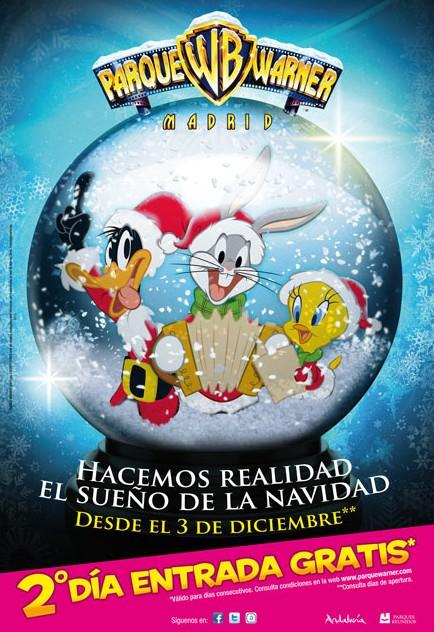 Navidad 2011 en Parques Reunidos con actividades para toda la familia