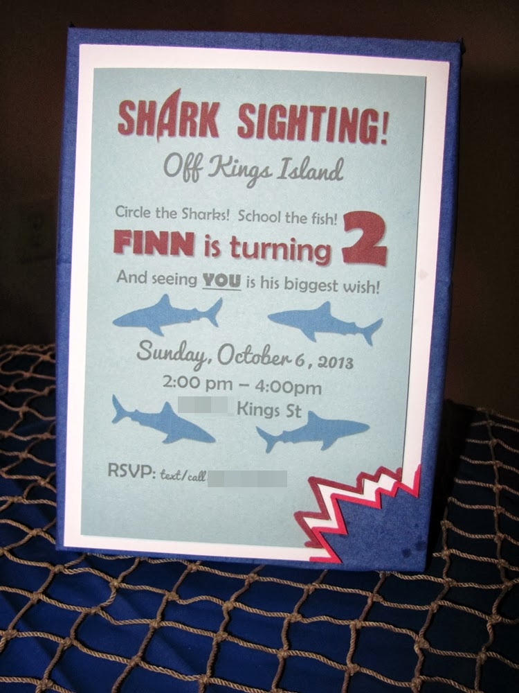 f1ca98e43ca Six Dream Weavers  Shark Attack! Finn is 2!