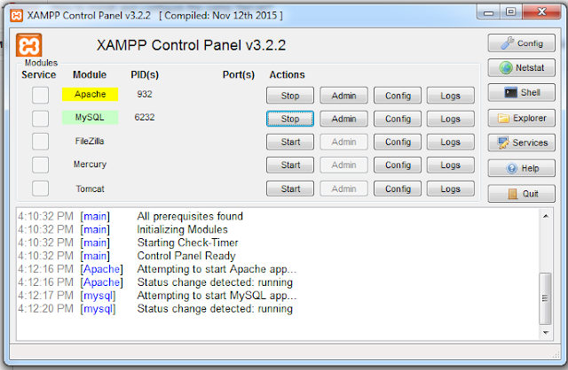 How to install and configure the xamp Server?