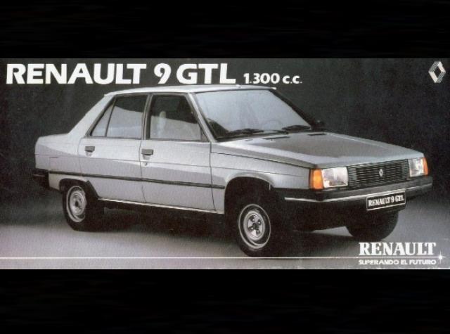 Cruiser Clsicos En Escala 143 143 Classics Renault 9 Gtl 1985