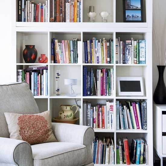 living room storage bookcase bookcases a sofa home design image 16980