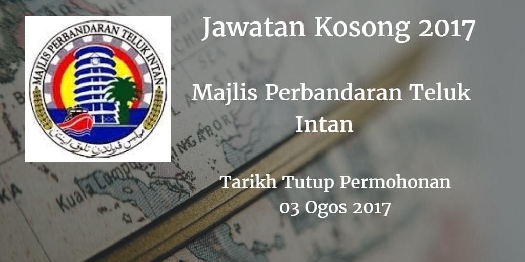 Jawatan Kosong MPTI 03 Ogos 2017