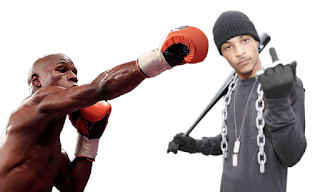 Floyd Mayweather Tiny TI Mocks Boxer's Father