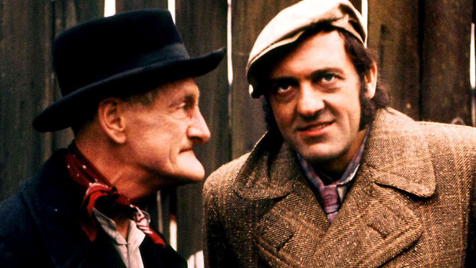 A still photograph showing Albert and Harold Steptoe