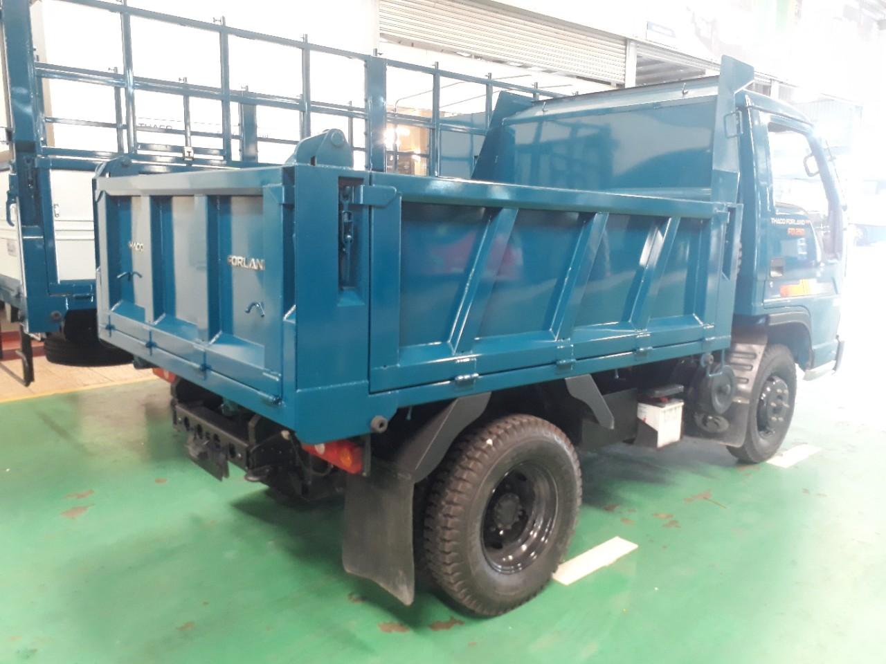 Kich thước xe ben 2.5 tấn tại Hải Phòng