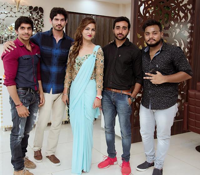 Sachin Rana, Nikki Rana, Manju Choudhary, Bhanu Rana & Jitesh Dewan