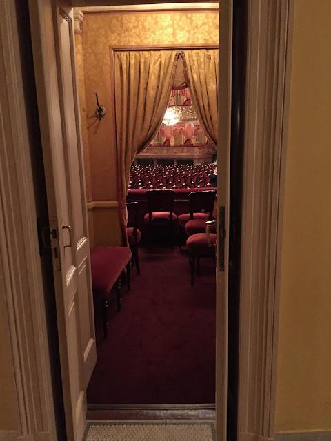 Entrance to Teatro Colon Box