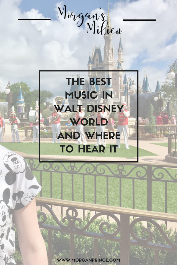 Want to know where to hear the best music in Walt Disney World - here it is!