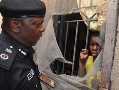 woman locks maid in room oshodi lagos