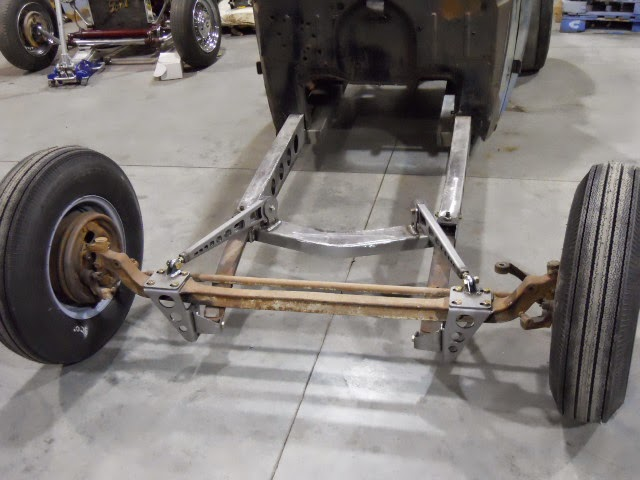 My T Rod: 1/4 Elliptical Front Suspension