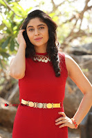 Telugu Actress Zahida Sam Latest Pos in Red Gown at RF Films New Movie Opening  0185.JPG