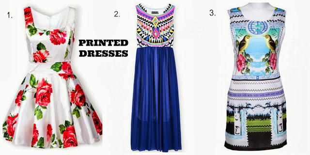 SheInside Printed Dresses