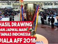 Inilah Hasil Drawing & Jadwal Timnas Indonesia di Piala AFF 2018