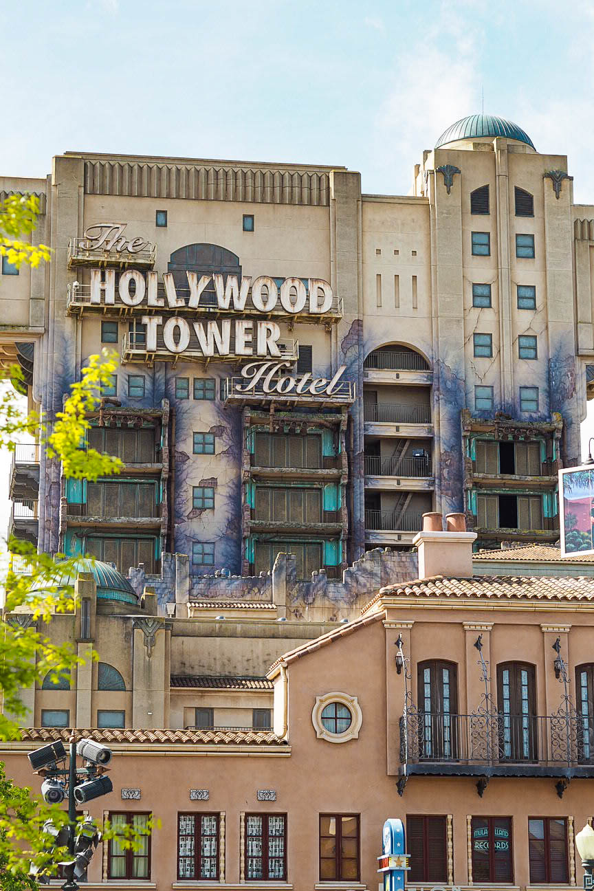 Twilight Zone Tower of Terror, Disneyland Paris