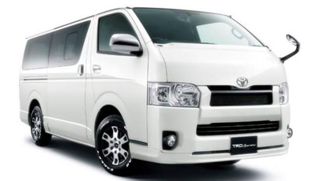 2017 Toyota Hiace Redesign