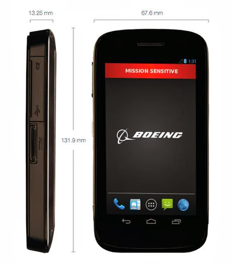 Boeing launches Ultra-Secure 'Black' Smartphone that has Self-Destruct Feature