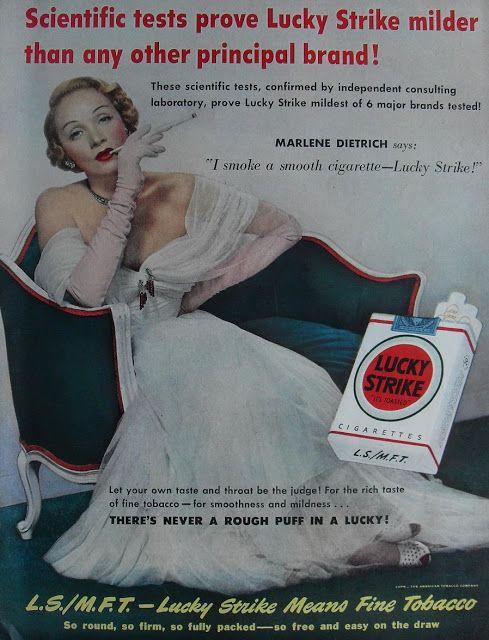 Ilustración retro de Marlene Dietrich