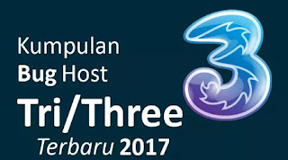 Bug Host Three terbaru Oktober 2017