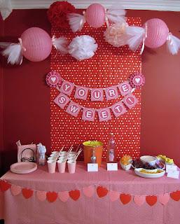 Valentine's day birthday party