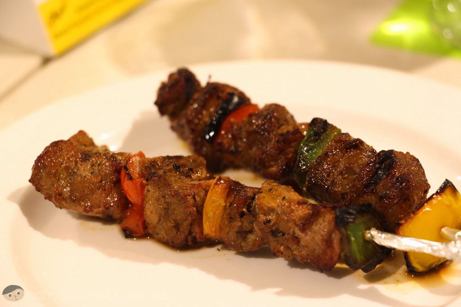 Midas Cafe Beef Kebabs - inconsistent but has a great potential!