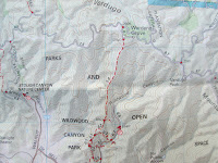 Verdugo Mountain Trail Map by Tom Harrison