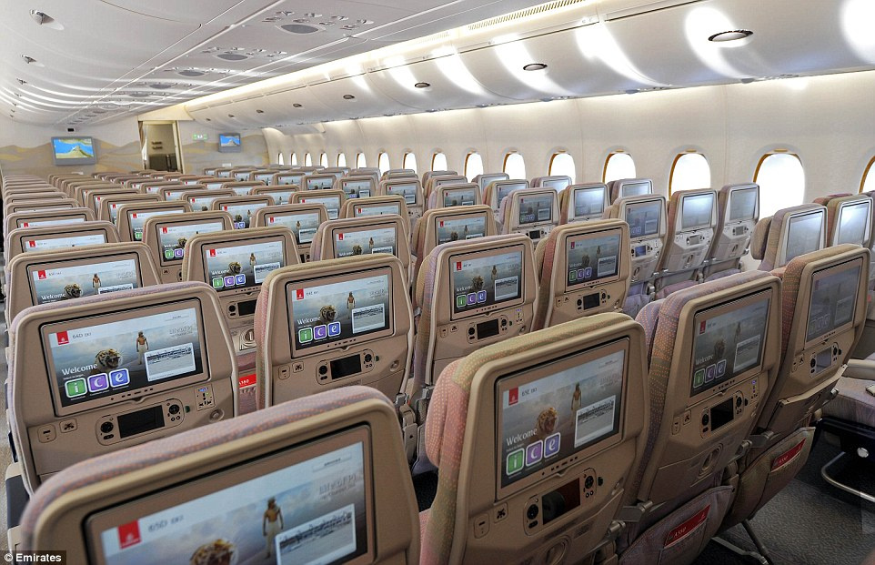 Emirates A380 Interior Photos Seat Inspiration