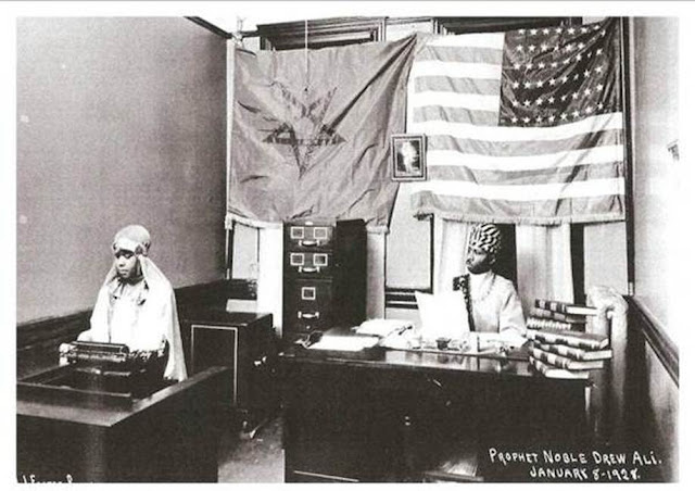 us flag, moorish flag, noble drew ali