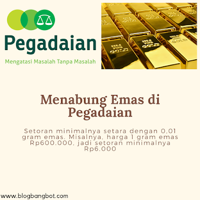 menabung emas pegadaian