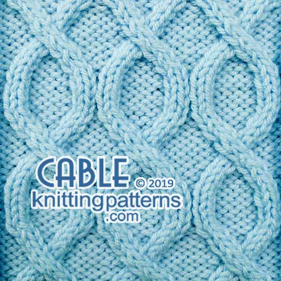 Free #Knitting Pattern - Cable Pattern