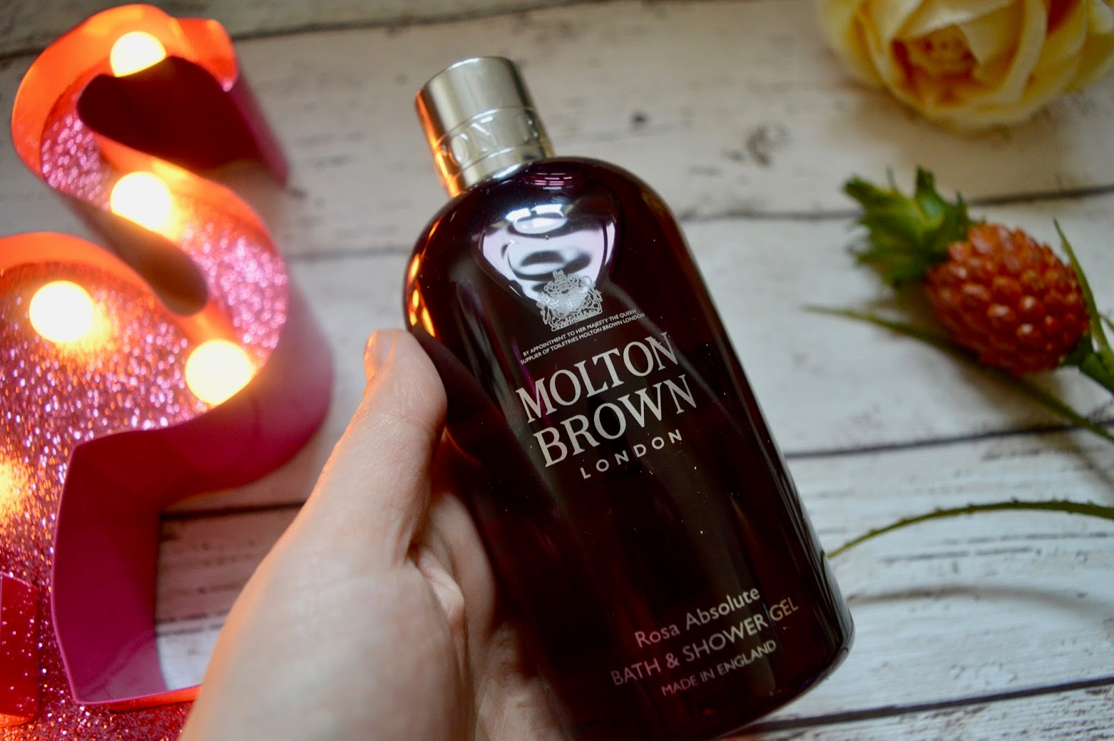 molten brown rosa absolute bath and shower gel review