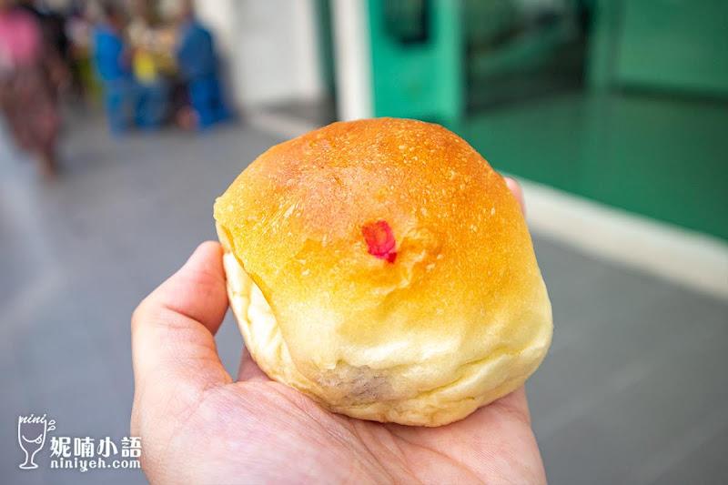 【沙巴亞庇美食】瓊萬興包子。花生香大噴發之必吃烘麵包菠蘿包