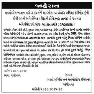 Gujarat Fisheries Department
