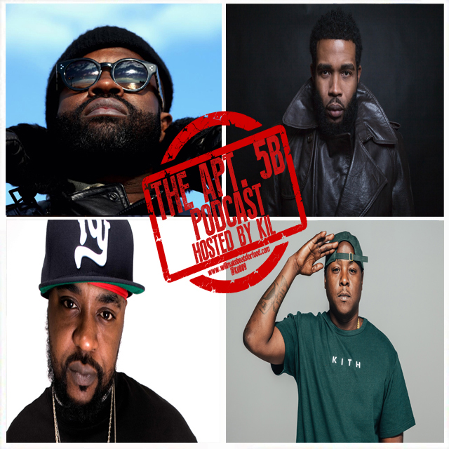 Apt. 5B Podcast Hosted by Kil: What MC's From The 90's Are STILL Dope?