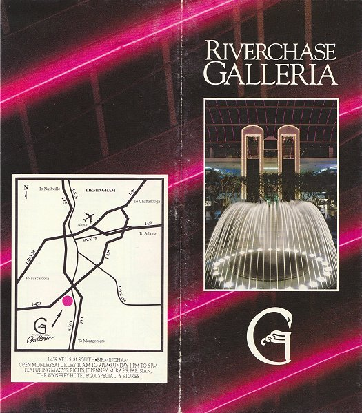 The Place At Galleria Birmingham Al: Riverchase Galleria, Hoover, AL