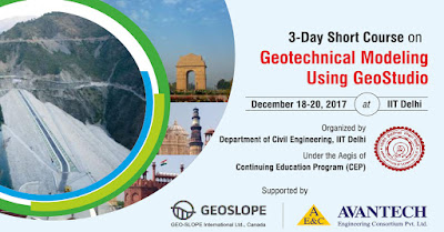 3-Day Short Course on Geotechnical Modeling Using GeoStudio