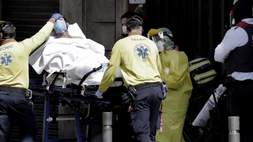 España: con 435 fallecidos, la cifra diaria de muertos se estabiliza