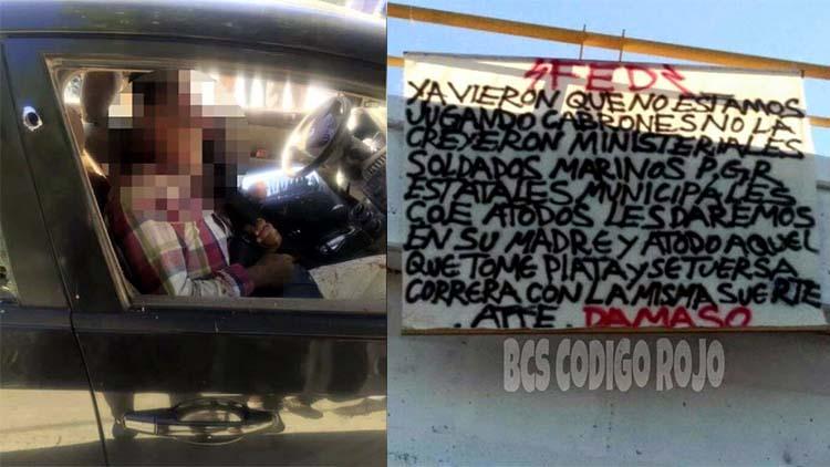 """Fuerzas Especiales Dámaso acribillan a ministeriales: """"Ya vieron que no estábamos jugando"""" advierten en narcomanta"""