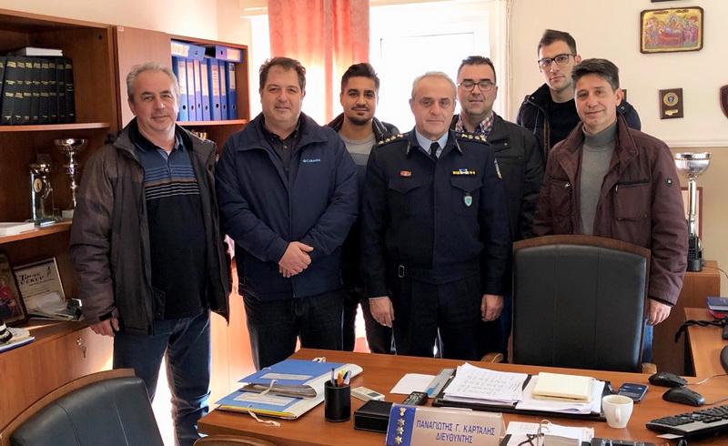 Συνάντηση συνδικαλιστών αστυνομικών με τον νέο Αστυνομικό Διευθυντή Αλεξανδρούπολη