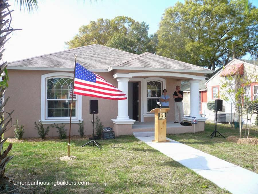 Casa americana rescatada y renovada