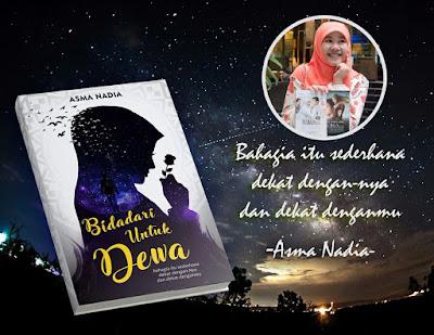 novel, bidadari untuk dewa, Asma Nadia