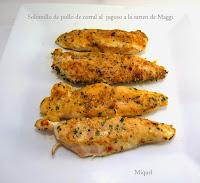 Solomillos de pollo de corral al jugoso a la sartén de Maggi