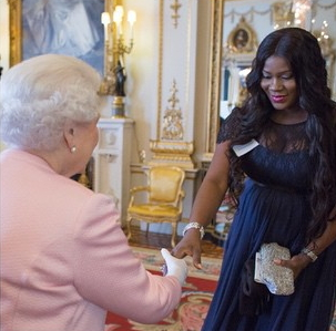 stephanie okereke queen of england