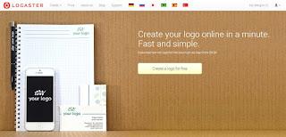 mengunjungi situs online logo maker
