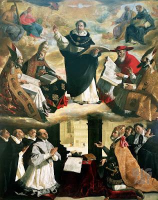 Imagem de São Tomás de Aquino, pintura, #1