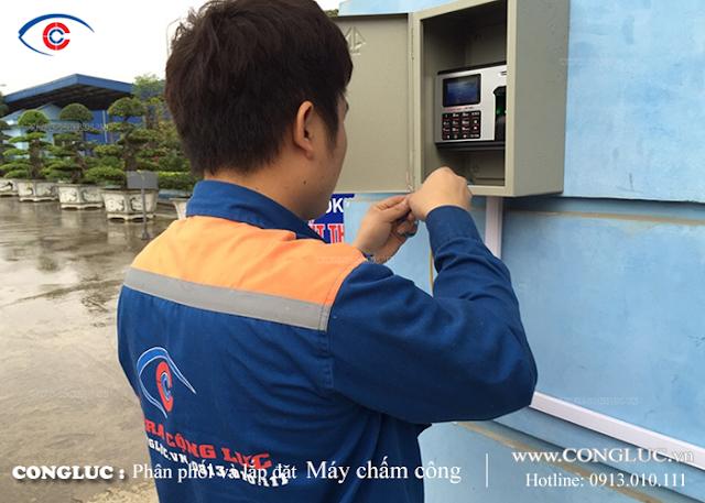 lắp máy chấm công tại Quận Lê Chân Hải Phòng