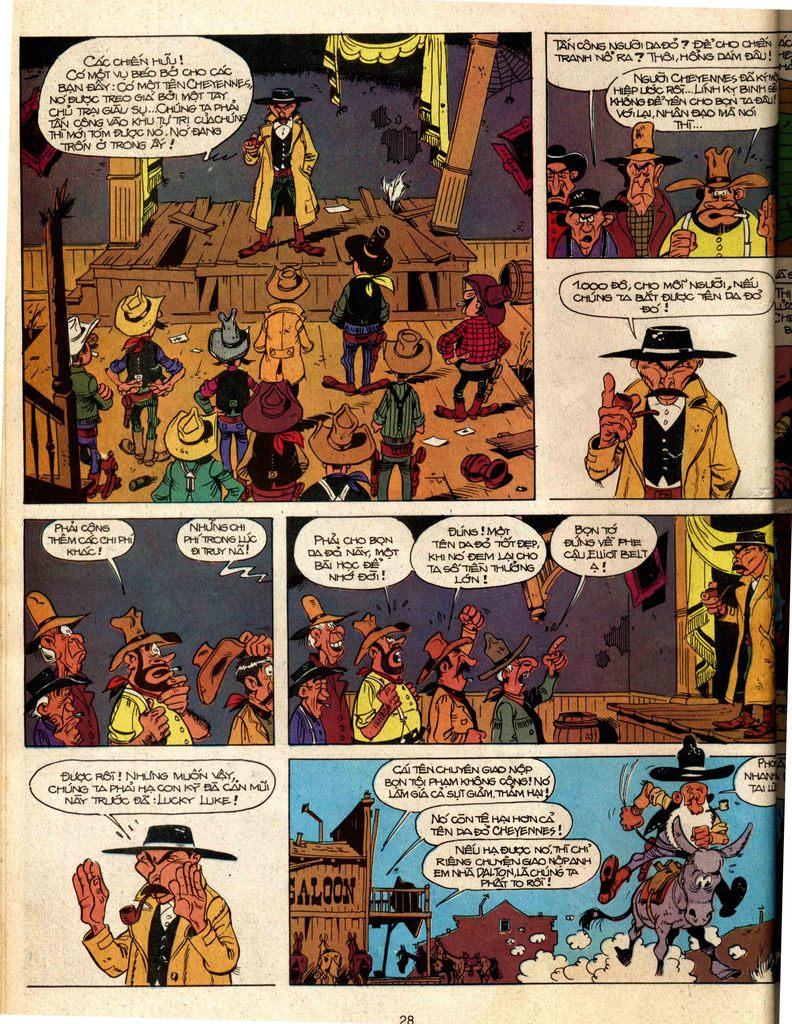 Lucky Luke tap 2 - ke san tien thuong trang 24