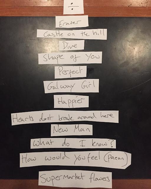 Ed Sheeran Reveals 'Divide' Track List