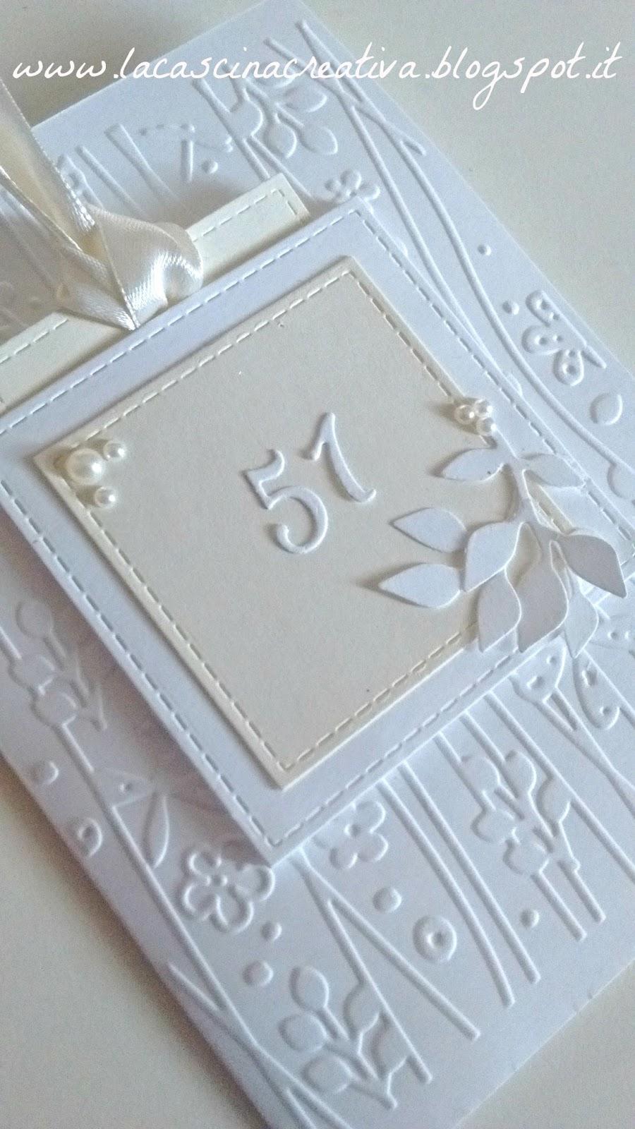 Anniversario Di Matrimonio 51 Anni.La Cascina Creativa Card Nozze D Oro Piu Uno