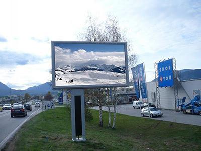màn hình led p7 sử dụng ngoài trời