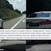 'Saya cuma bunyikan hon sebab pemandu itu memandu secara berbahaya'